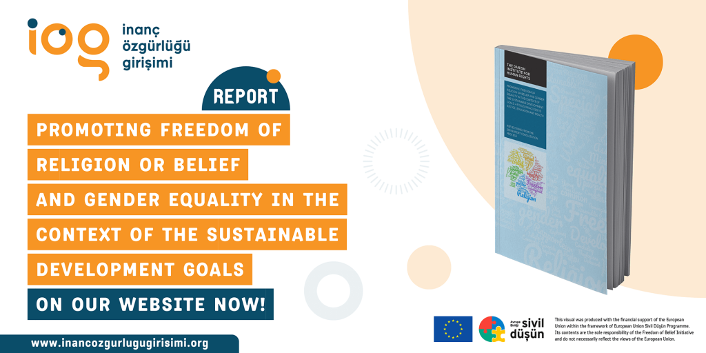 Promoting Freedom of Religion or Belief and Gender Equality in the Context of the SDGs