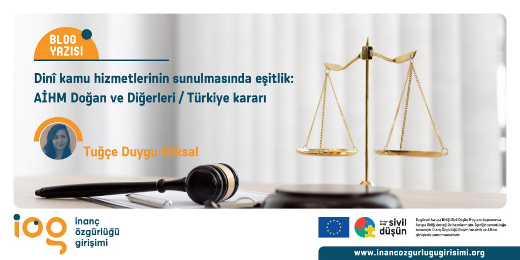 Dinî kamu hizmetlerinin sunulmasında eşitlik: AİHM Doğan ve Diğerleri / Türkiye kararı